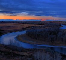 Bow River Valley by JamesA1