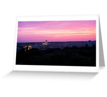 Vatican City, By Night Greeting Card