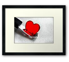 Carefully With .......... Framed Print