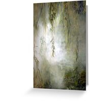 Weepin Willows Greeting Card