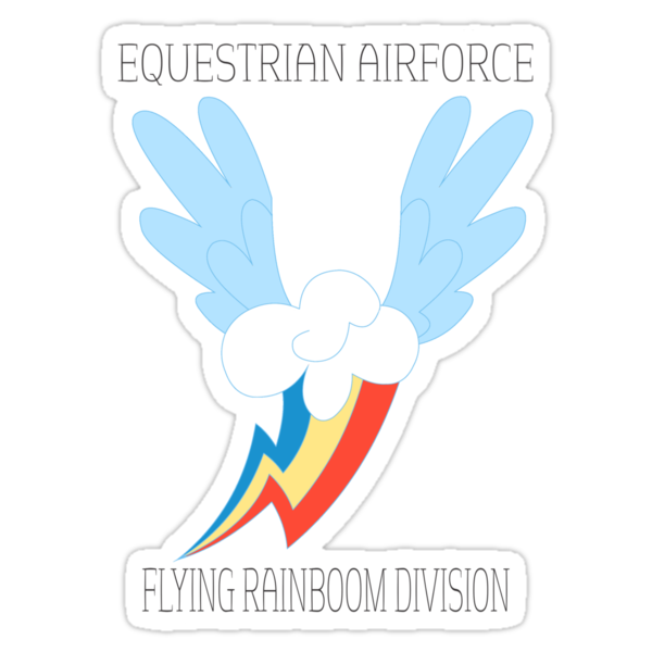Equestrian Airforce FRD by SpeechBubble