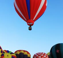 Winthrop balloon Festival by Debbie Roelle