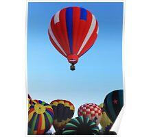 Winthrop balloon Festival Poster