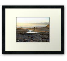 """Tidal Inlet"" Framed Print"