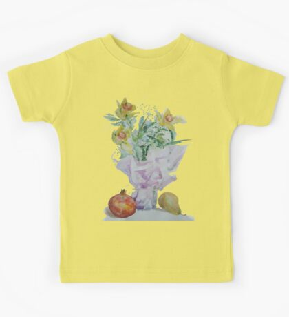 3+2 - Flowers with apple and pear Kids Tee