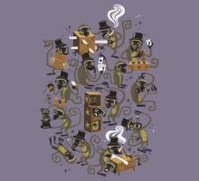 Monkey Magic (brown) Kids Clothes