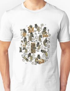 Monkey Magic (brown) Unisex T-Shirt