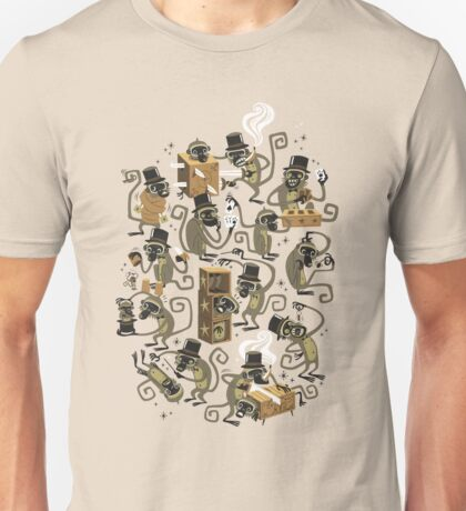 Monkey Magic (brown) Unisex T-Shirt