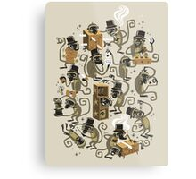 Monkey Magic (brown) Metal Print