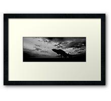 Bomber Framed Print