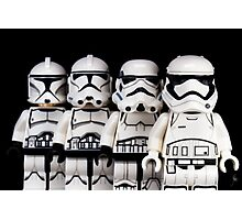 Evolution of a stormtrooper Photographic Print
