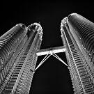 B&W Towers by Sid Paleri