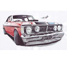 Falcon GTHO Phase 3 Photographic Print