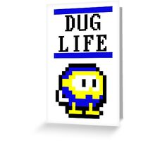 Pooka Dug life Greeting Card