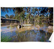 Murrumbidgee Floods - Front Row Seat Poster