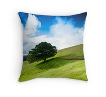 The Silent Observer Throw Pillow