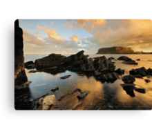 "The Stanley ""Nut"" at Sunset Canvas Print"