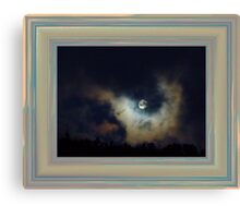 March Moon Canvas Print