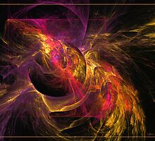 Storm is raising by Fractal artist Sipo Liimatainen