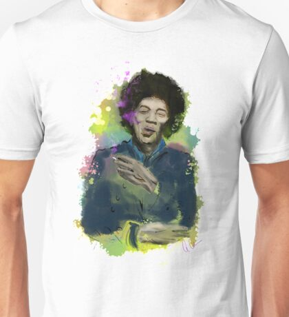 Jimi Colourised  Unisex T-Shirt
