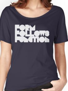 FFF - White Ink Women's Relaxed Fit T-Shirt
