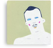 little moustache Canvas Print