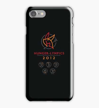 Hunger-lympics - IPHONE CASE iPhone Case/Skin