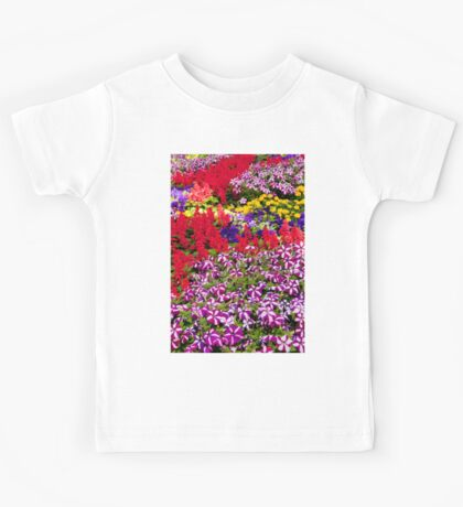 0959 A riot of Spring colour Kids Tee