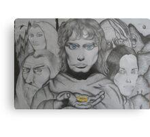 Frodo and crew Metal Print