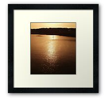 calm water Framed Print