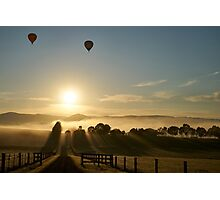 """A Light To My Path"", Yarra Valley, Victoria, Australia Photographic Print"