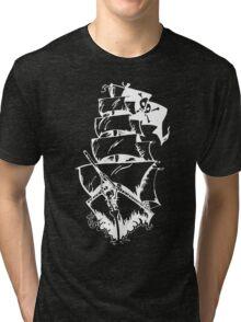 Pirate Ship Tri-blend T-Shirt