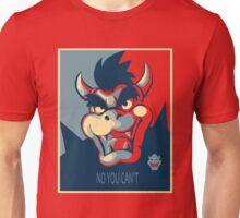Bowser for President Unisex T-Shirt