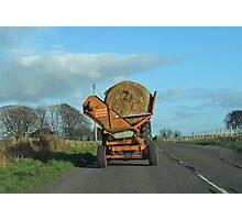 Hay Carting- Scottish style Photographic Print