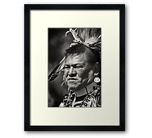 Dakota chief Framed Print