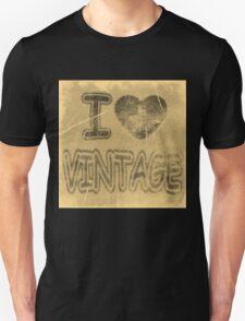 I Heart Vintage #2 T-Shirt T-Shirt