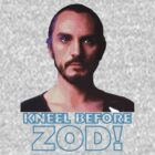 Yet Another Kneel Before Zod T-Shirt by Buleste