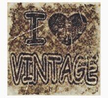 I Heart Vintage #3 T-Shirt Kids Tee