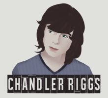Chandler Riggs AKA Carl Grimes / The Walking Dead by Dxnthonysz