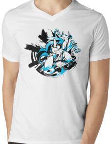 Dj-Pon3 Mens V-Neck T-Shirt