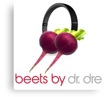 Beets by Dr Dre Canvas Print