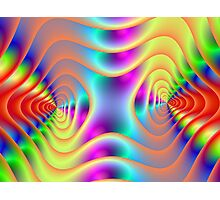 Double Spiral Photographic Print