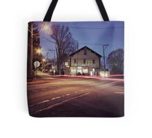Morning Traffic (Snapseed) Tote Bag
