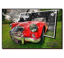MG MGA Photographic Print