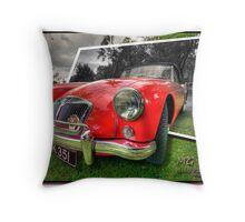MG MGA Throw Pillow