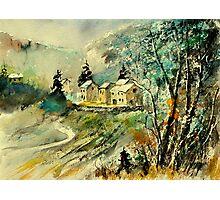 Watercolor Thynes  Photographic Print