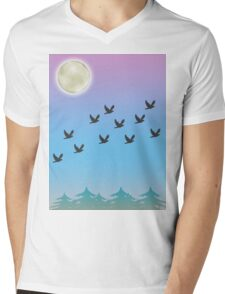 Birds of a Feather Mens V-Neck T-Shirt