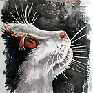 Gypsie, featured in Art Universe,  Cat's Pajamas by Françoise  Dugourd-Caput