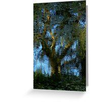 Nature's Mirror ~ Part Three Greeting Card