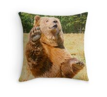 Howdy Campers! Throw Pillow